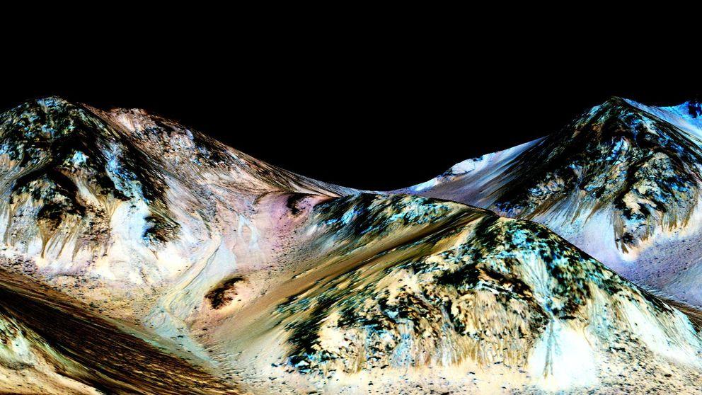 La NASA encuentra pruebas de la existencia de agua salada en Marte