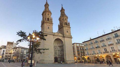 Una niña resulta herida tras desprenderse un trozo de techo en la Catedral de Logroño
