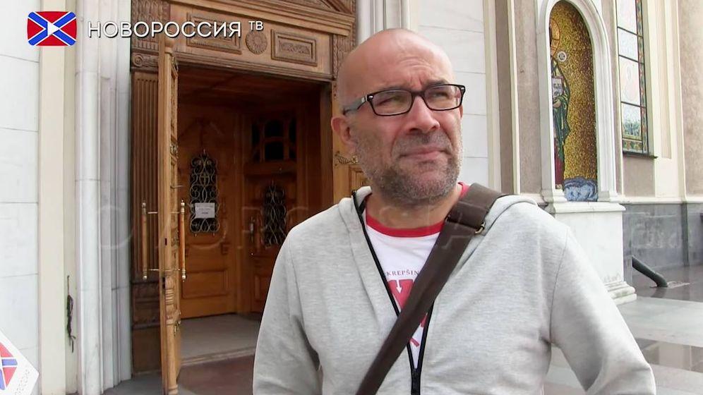 Foto: Miquel Puertas. (Captura de pantalla de la televisión rusa)