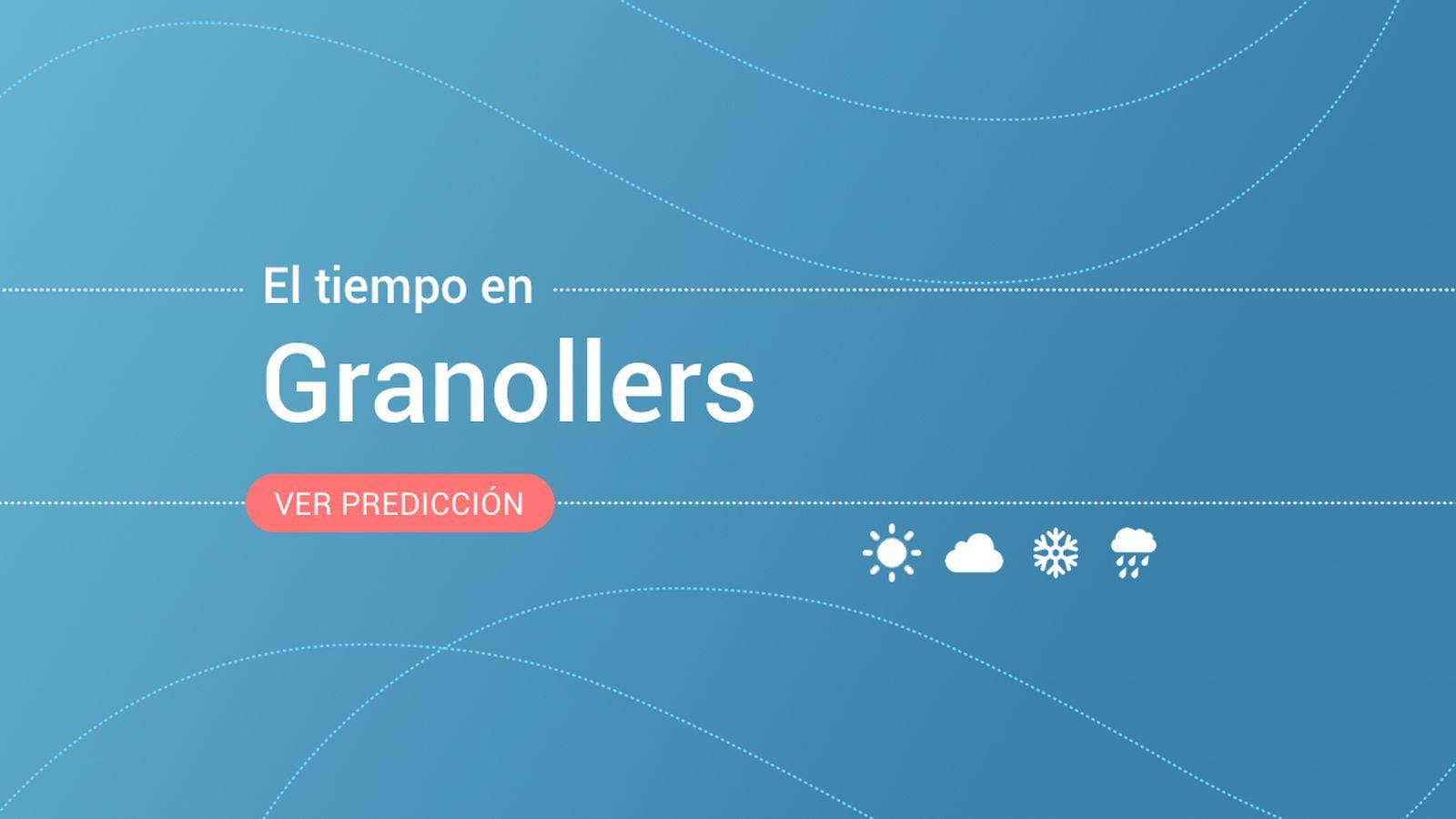 Foto: El tiempo en Granollers. (EC)
