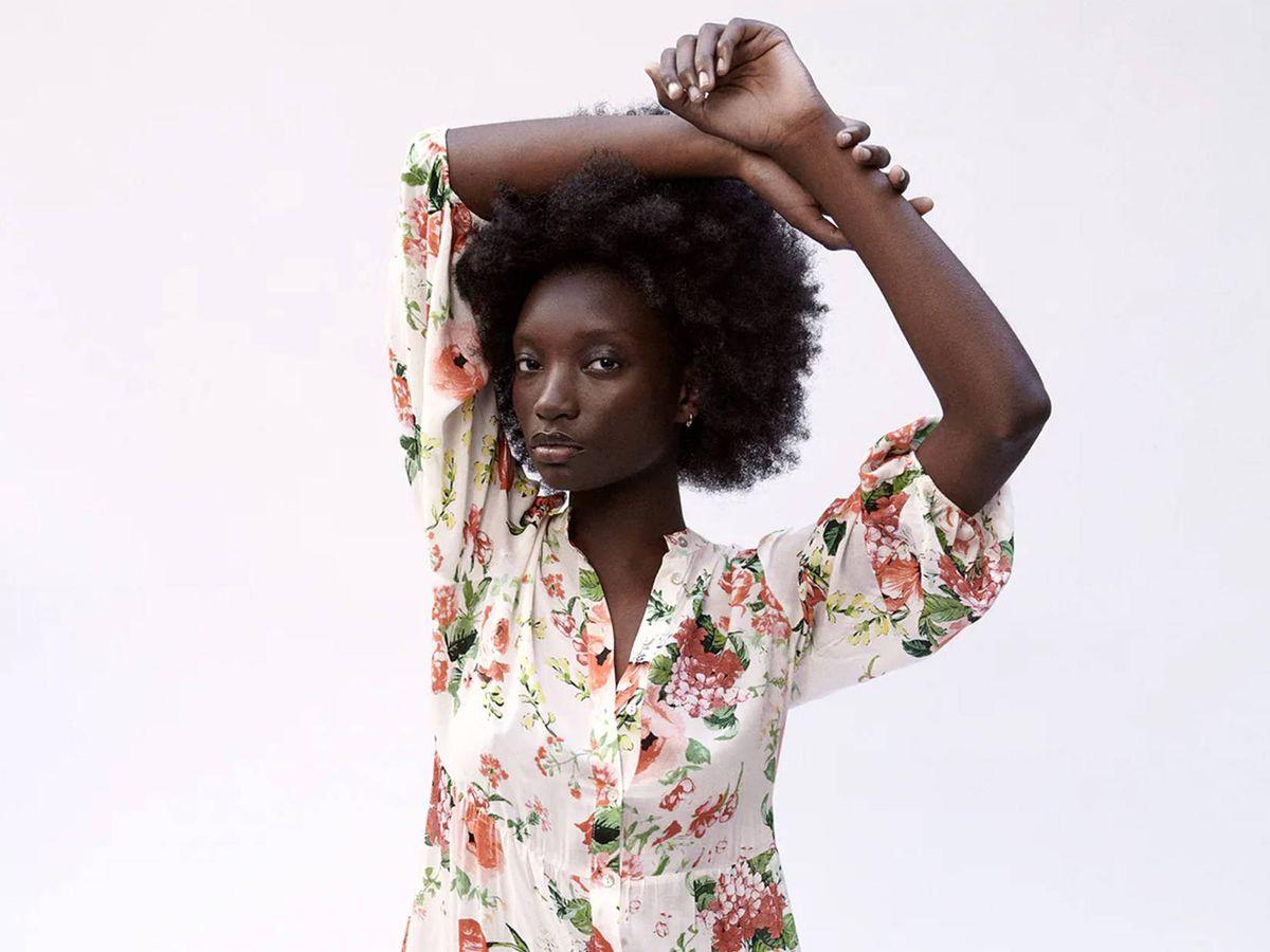 Foto: Vestido de flores de Zara. (Cortesía)