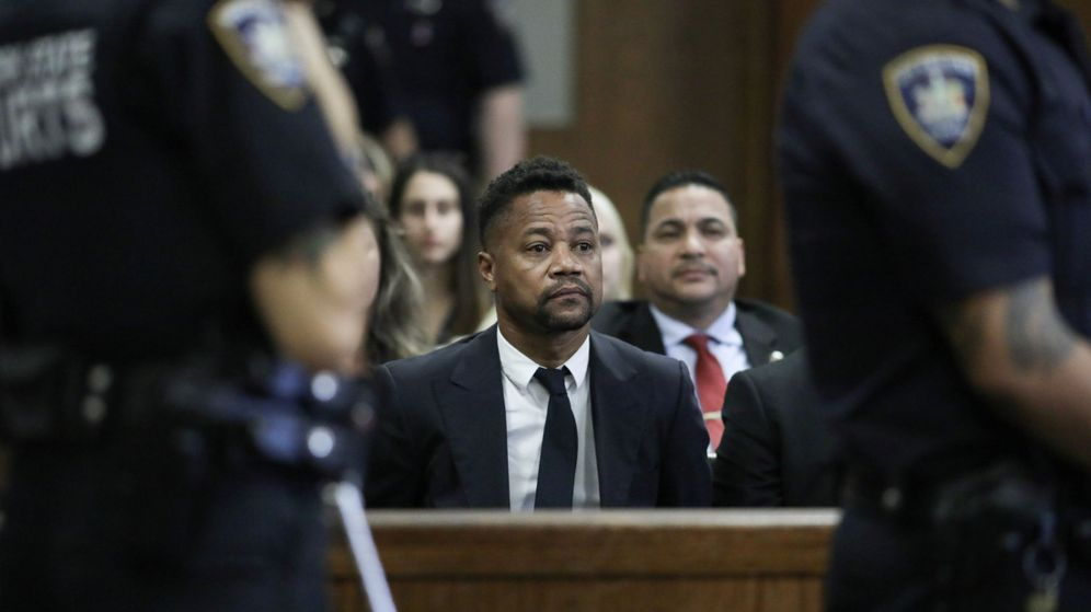 Foto: El actor Cuba Gooding Jr. ante el Juzgado de Manhattan, en Nueva York, el pasado mes de octubre. (Reuters)