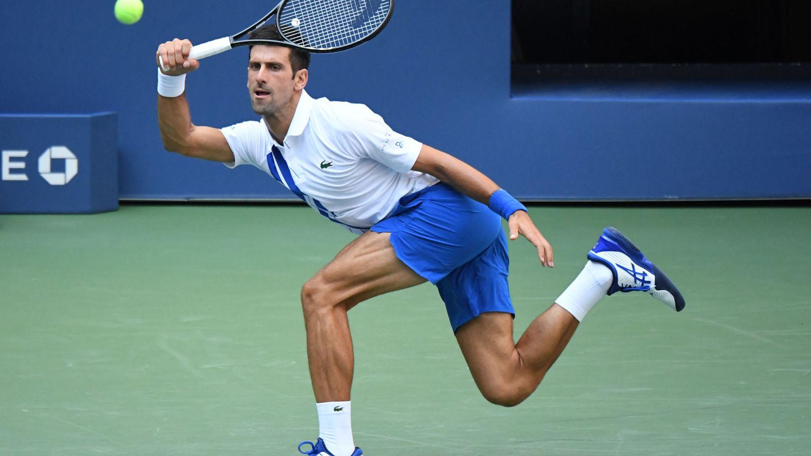Us Open Djokovic Expulsado Del Us Open Por Un Pelotazo A Una Juez De Linea