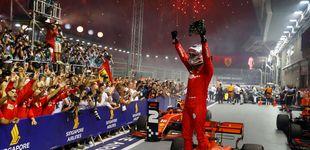 Post de Resultado F1: Vettel vuelve a ganar en el lío de Ferrari y Carlos Sainz solo puede ser 12º