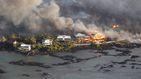 Miles de hectáreas han quedado completamente calcinadas en Hawai por volcán Kilauea