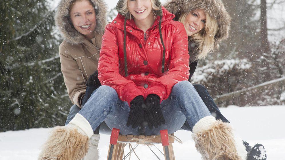 Foto: La vida es una cuestión de actitud, incluso cuando nieva. (iStock)
