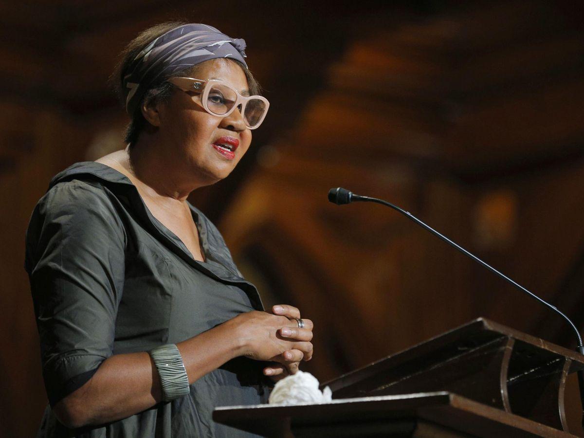 Foto: La escritora Jamaica Kincaid en 2014 (REUTERS)