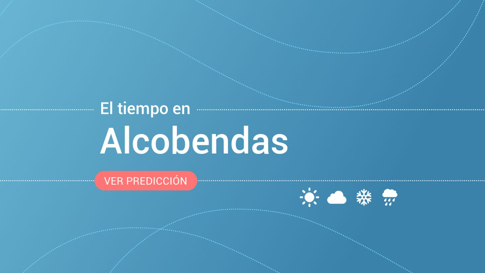 Foto: El tiempo en Alcobendas. (EC)