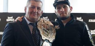 Post de Fallece por coronavirus el padre y entrenador de Khabib Nurmagomedov