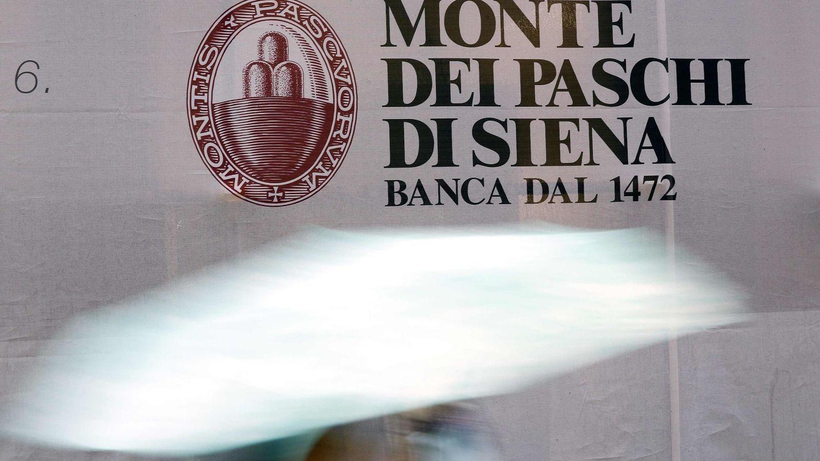 Banco santander sondea la compra del banco italiano monte for Sucursales banco santander en roma italia