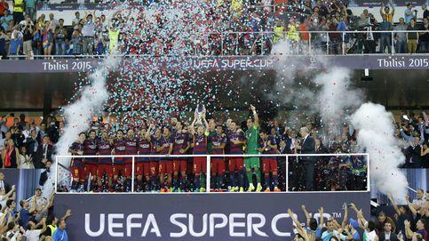 El Barcelona, campeón de la Supercopa de Europa