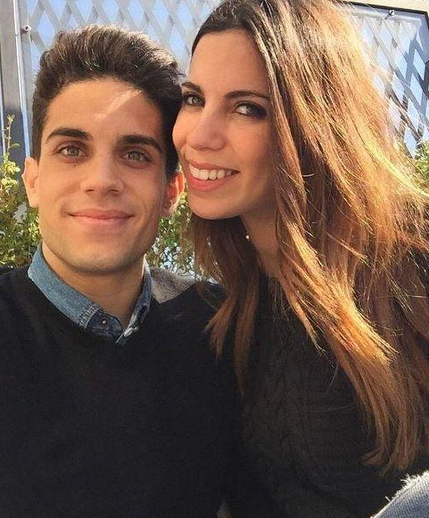 Foto: Marc Bartra y Melissa Jiménez (Instagram)