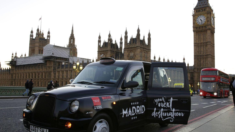 Una de las campañas de promoción que ha hecho la Comunidad de Madrid en Londres.
