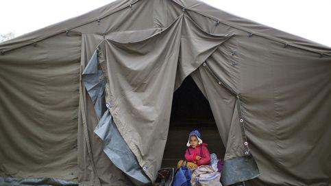 España se queda al margen de la entrega de enseres a los refugiados