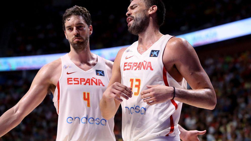 Foto: Pau y Marc Gasol coinciden este verano en la selección española por primera vez desde 2014. (EFE)