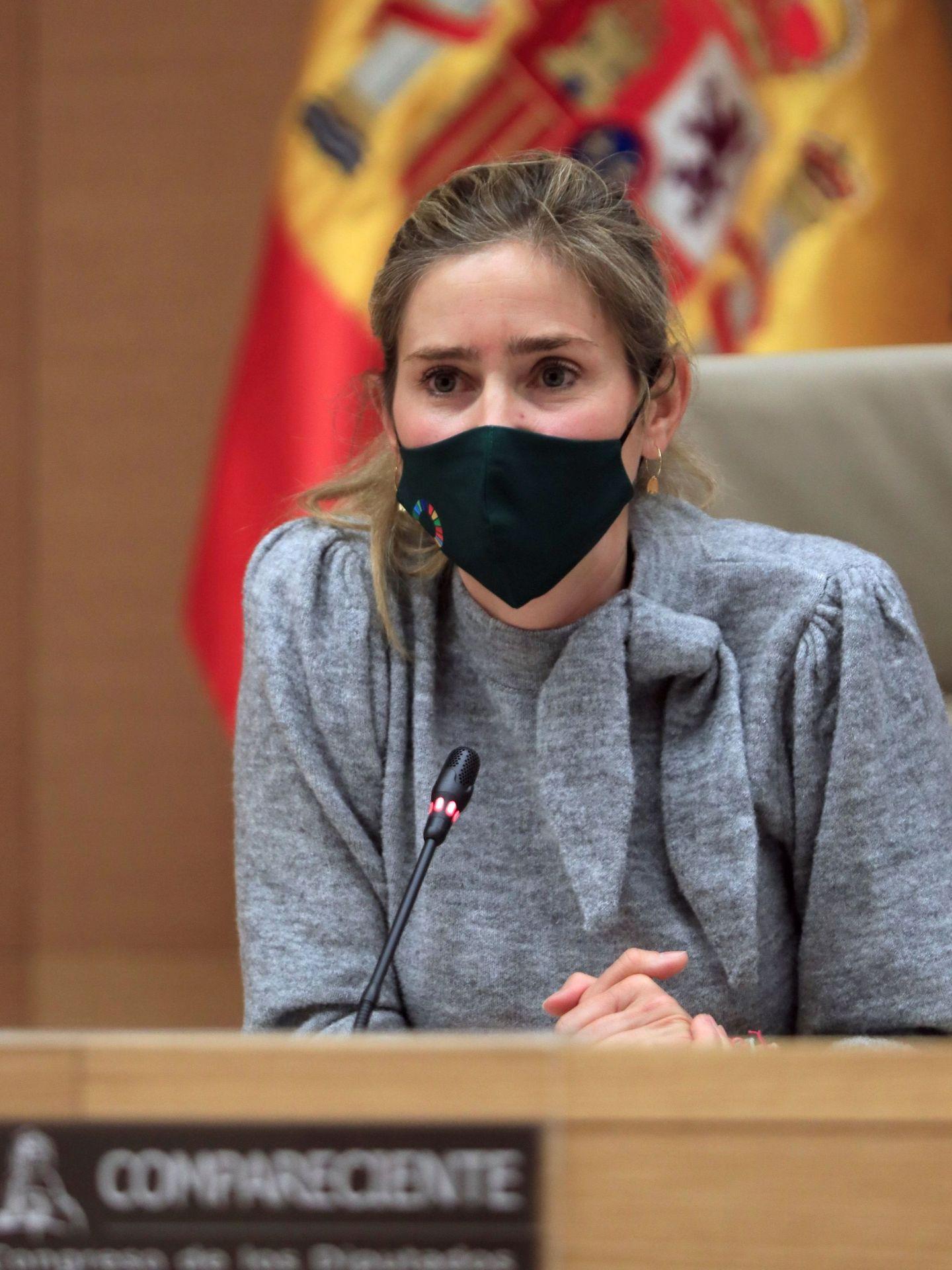 La secretaria de Estado de Energía, Sara Aagesen. (EFE)