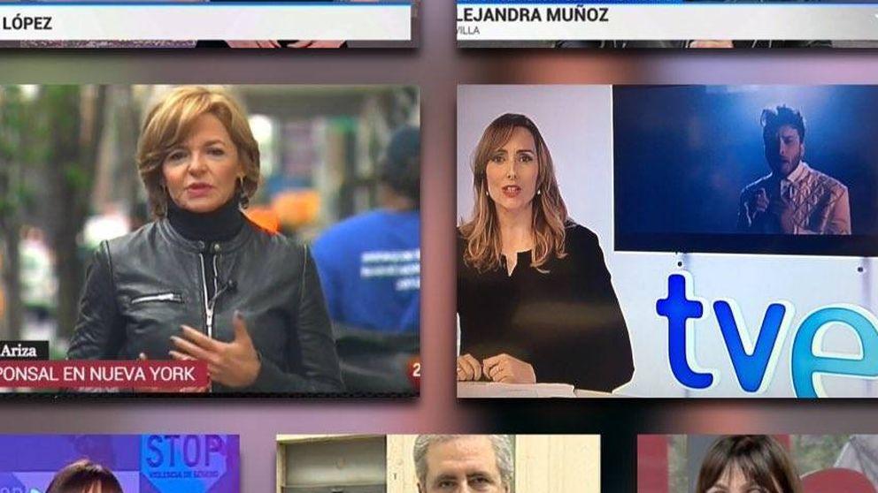 TVE presiona a sus redactores para que no vistan de negro en protesta por el bloqueo