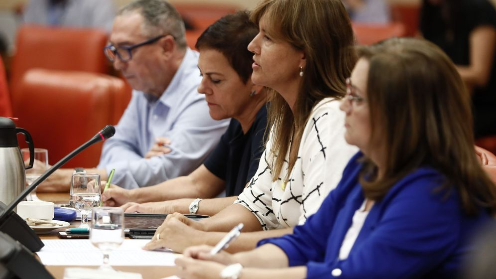 Foto: Laura Borràs, en el Congreso. (EFE)