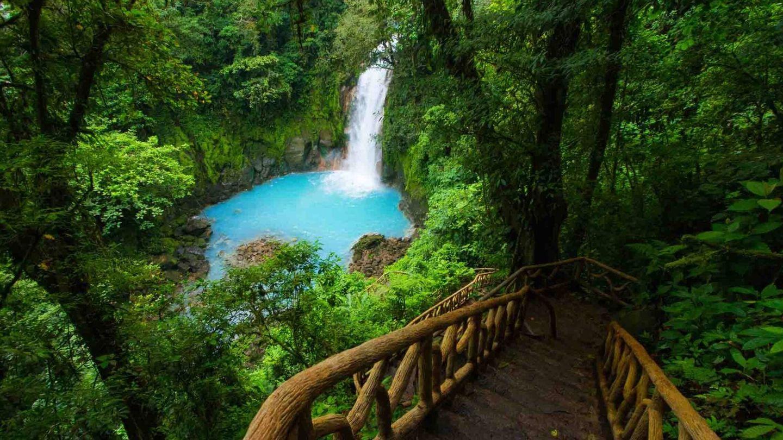 Río Celeste, en Costa Rica. (iStock)