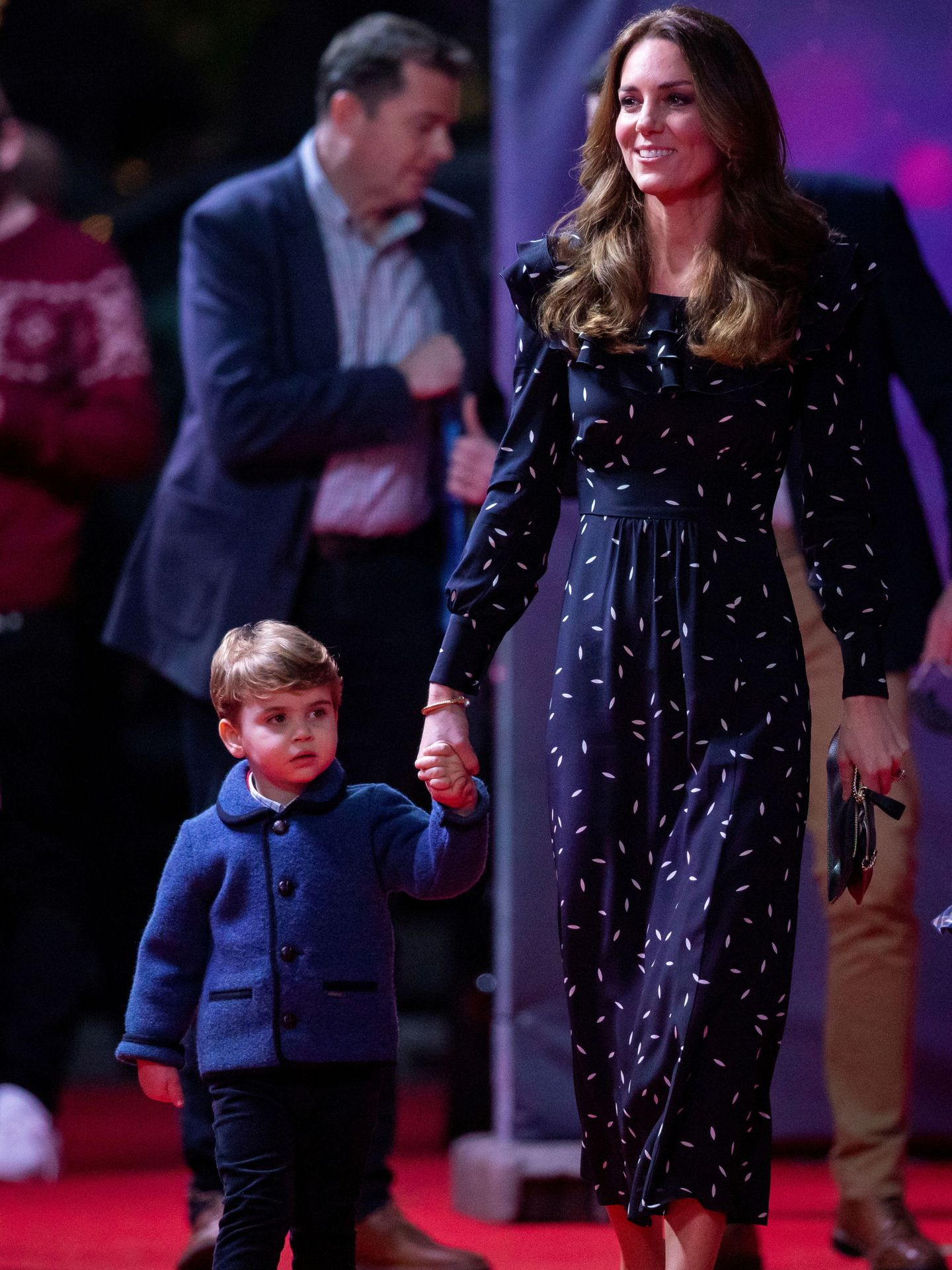 Kate Middleton, con Louis el pasado diciembre. (Reuters)