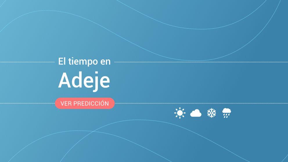 El tiempo en Adeje: previsión meteorológica de hoy, lunes 4 de noviembre