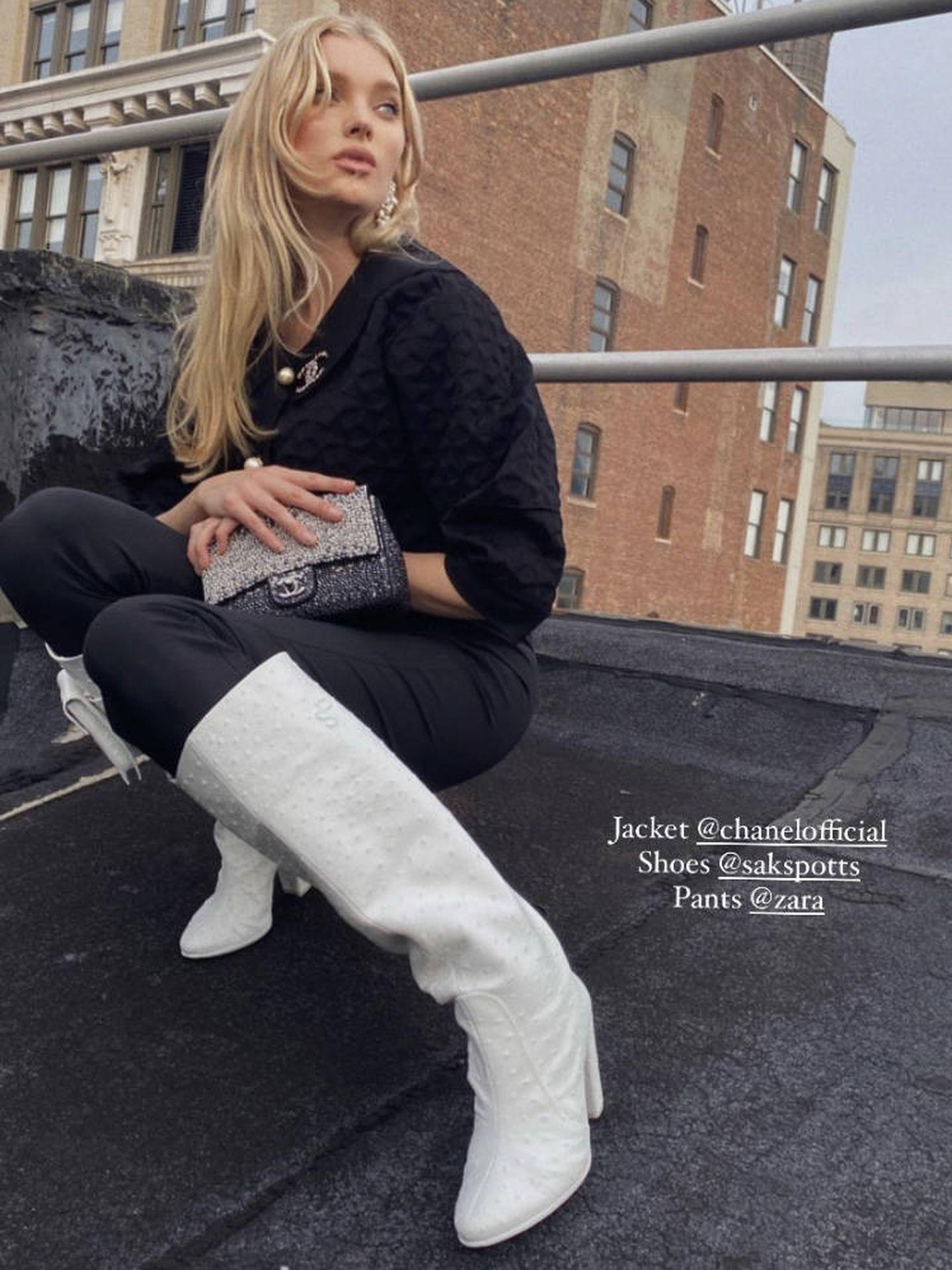 Elsa Hosk. (Instagram)