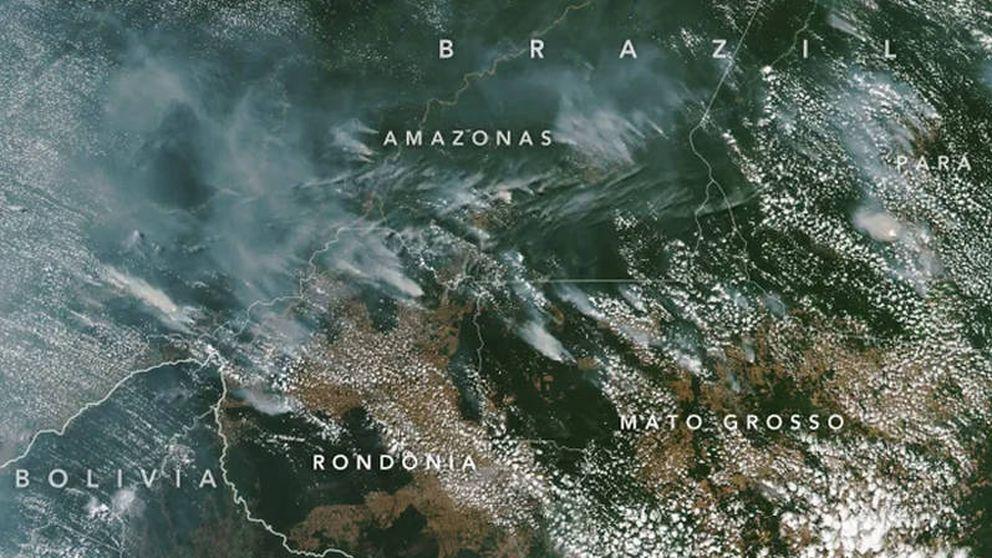 Arde el Amazonas: están quemando el pulmón del planeta