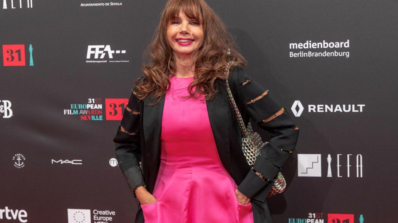 Victoria Abril, en los Premios del Cine Europeo 2018 celebrados en Sevilla. (EFE)
