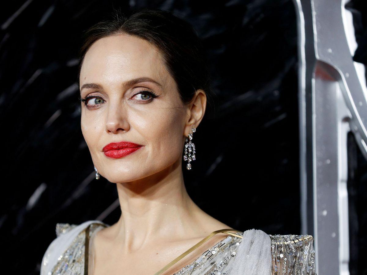 Foto: Angelina Jolie, en una première en Londres. (Reuters)