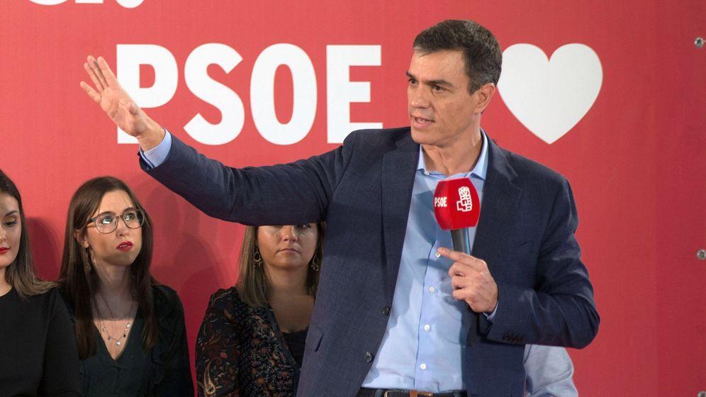 Foto: El líder del PSOE, Pedro Sánchez, en un acto en Jaén. (EFE)