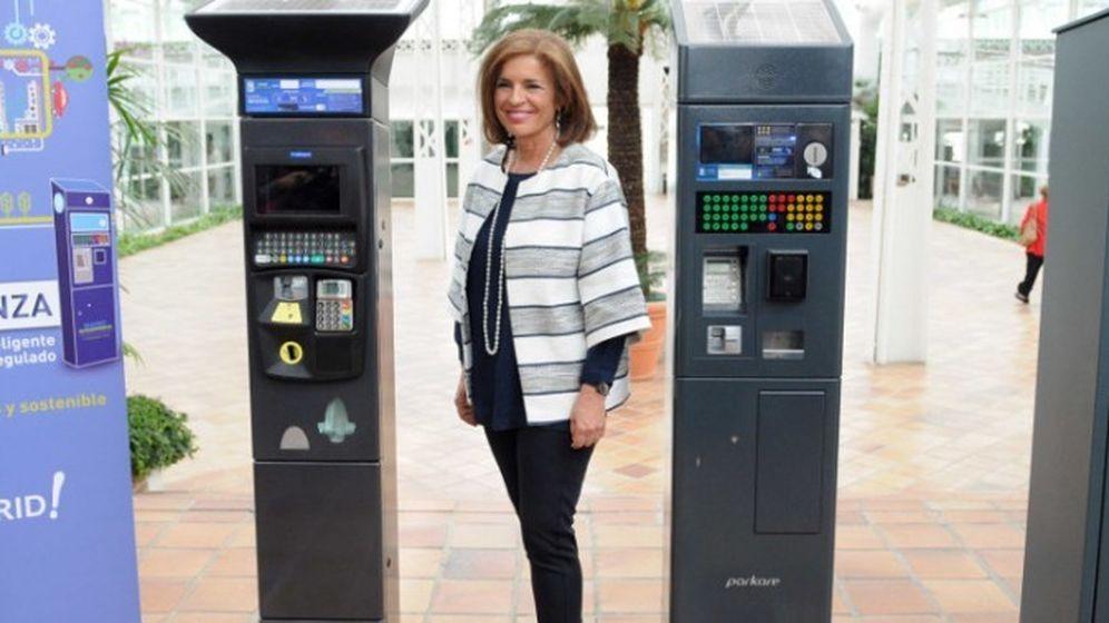 Foto: Botella presenta los nuevos parquímetros (foto: Ayuntamiento de Madrid)