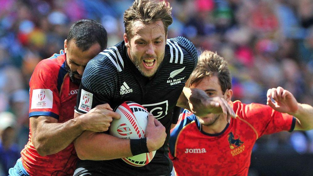 Foto: España, mejor que bien con el décimo puesto entre los grandes del rugby seven