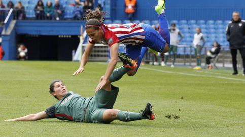 El día que las jugadoras hicieron suyos los vestuarios masculinos del Calderón