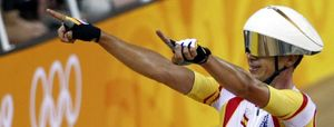 Joan Llaneras, oro en puntuación, primer español con medallas en tres Juegos consecutivos