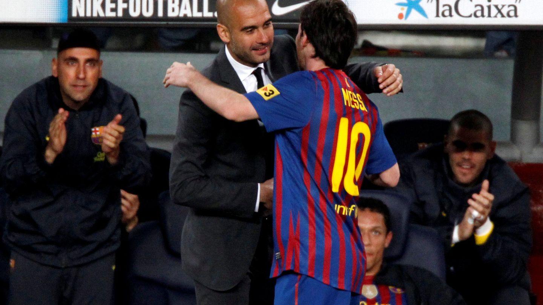 Messi, deseando volver a ser entrenado por Guardiola. (Reuters)