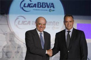Foto: El BBVA prorroga dos años su patrocinio a la Liga española de fútbol