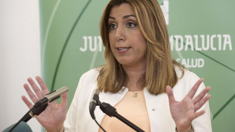 """Susana Díaz equipara a Podemos y Trump: """"Beben de la misma fuente"""""""