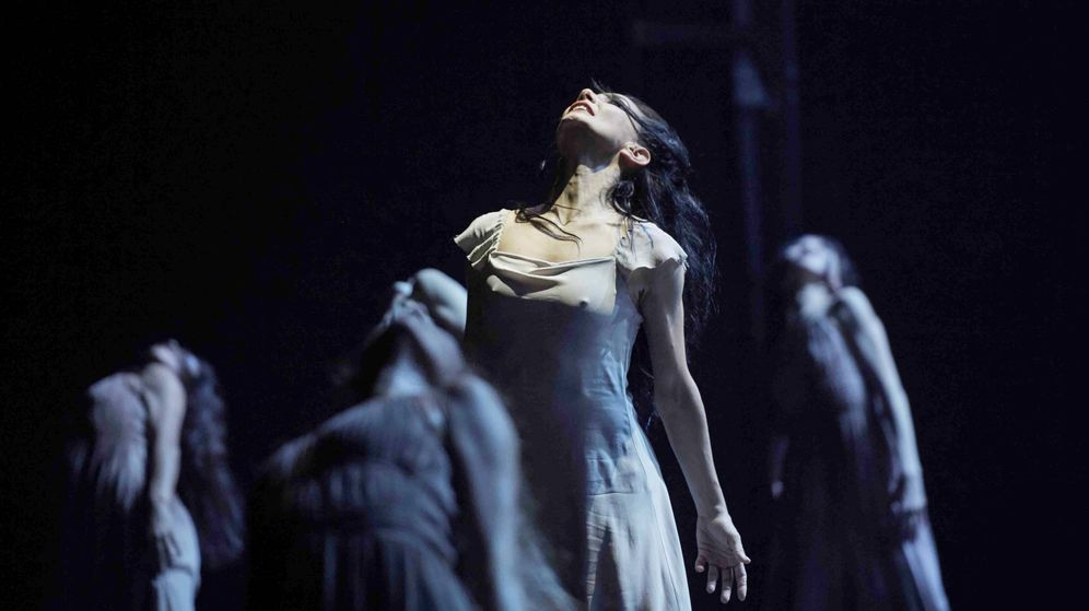Foto: Tamara Rojo es 'Gisele'. Foto: Laurent Liotardo