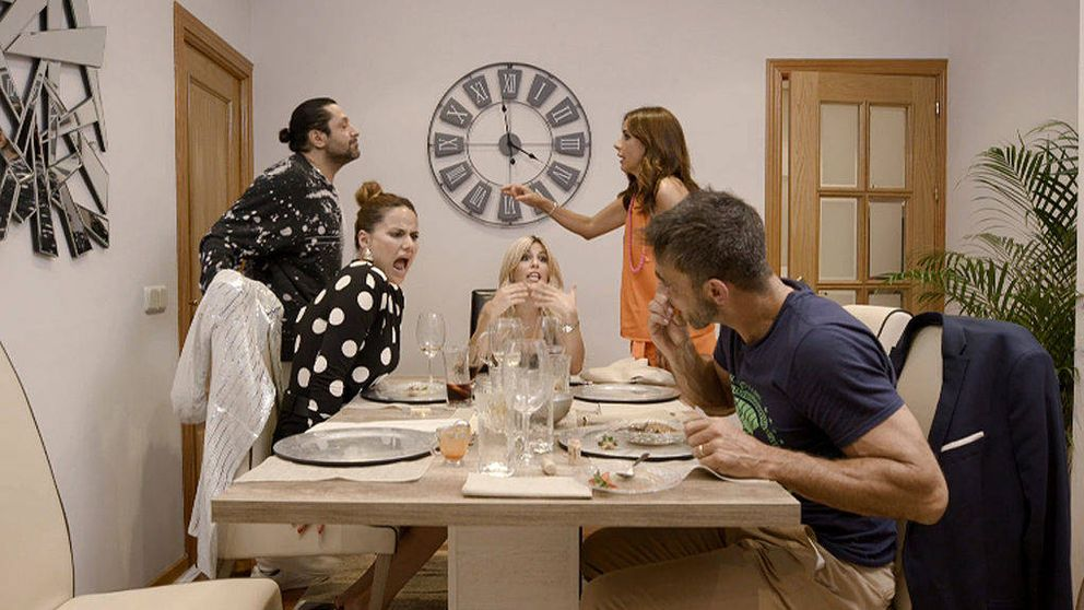Rafael Amargo abandona 'Ven a cenar conmigo' tras una gran bronca
