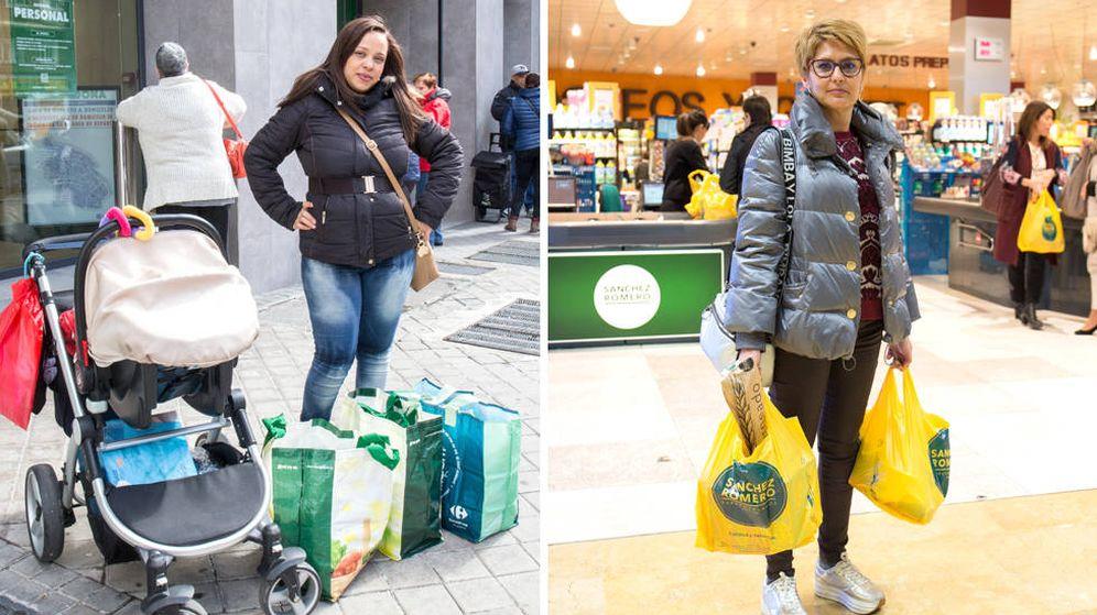Foto: Los supermercados reflejan también la brecha social en función del barrio en el que se encuentran.