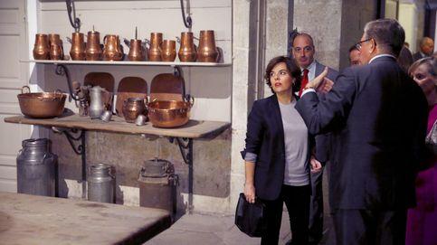 Soraya visita la Real Cocina del Palacio Real