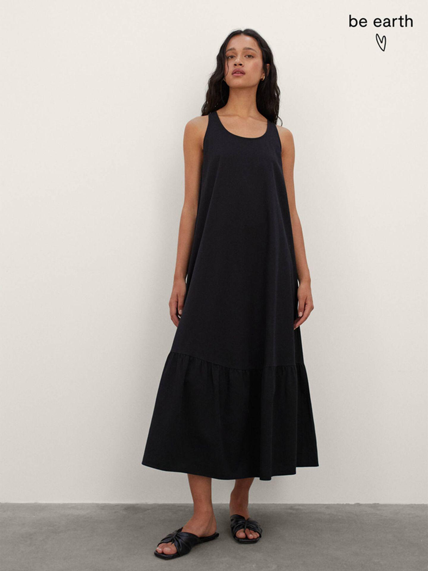 El vestido sostenible de Parfois diseñado para todo tipo de cuerpos. (Cortesía)