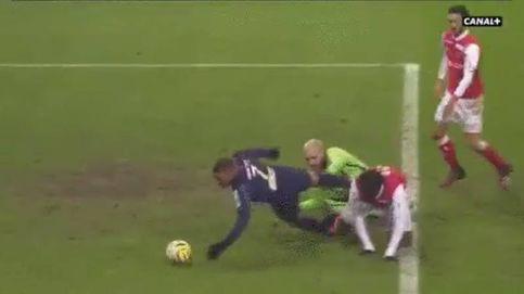 Mbappé marca el gol más esperpéntico de su carrera en la Copa de la Liga