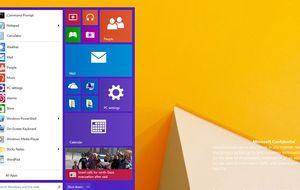 Imágenes filtradas de Windows 9 muestran de nuevo el botón de inicio