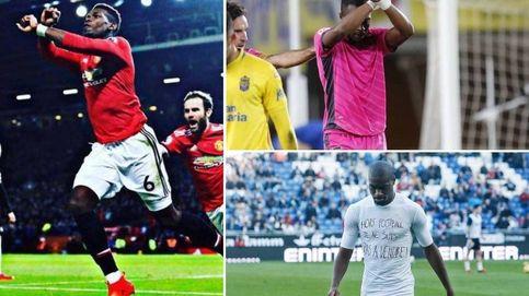 El gesto con el que los futbolistas denuncian subastas de esclavos en Libia