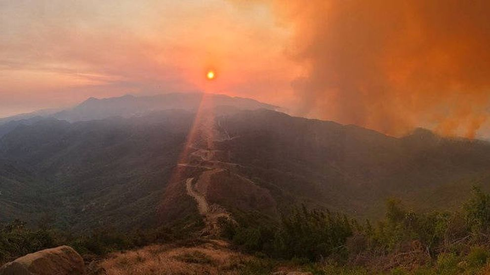 Los incendios forestales que arrasan California