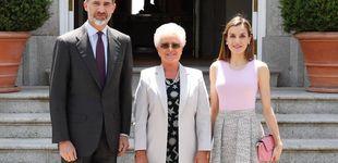 Post de Doña Letizia se viste de bailarina para almorzar con una princesa jordana