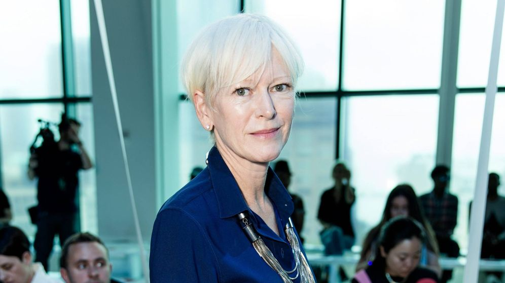 Foto: Joanna Coles en la New York Fashion Week. (Cordon Press)