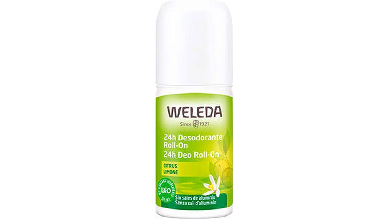 Desodorante Citrus en roll-on de Weleda