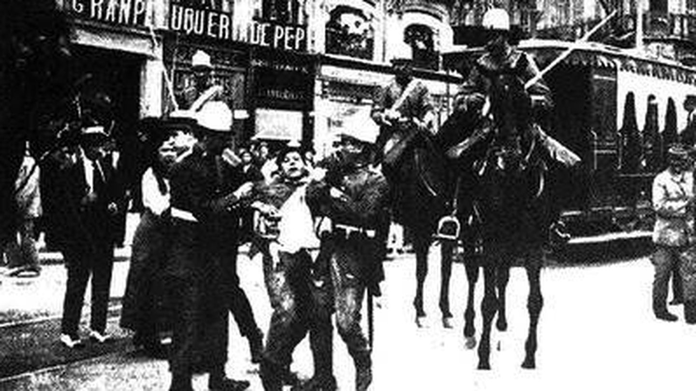 Huelga general de 1917.